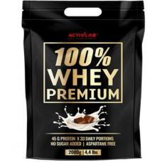 100% Whey Premium 2000g / Vadakuvalk