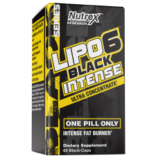 Lipo 6 Black Intense Ultra Concentrate 60caps / Rasvapõletaja