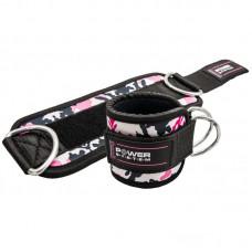 Ankle Straps Camo-Pink / Pahkluu rihmad