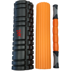 3-in-1 Foam Roller Set / Massaažirullide komplekt